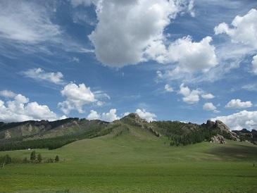 モンゴル-テレルジの風景