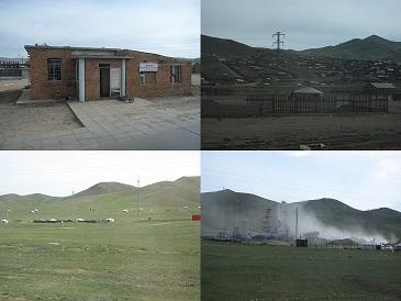 モンゴル-ウランバートルを出た道程